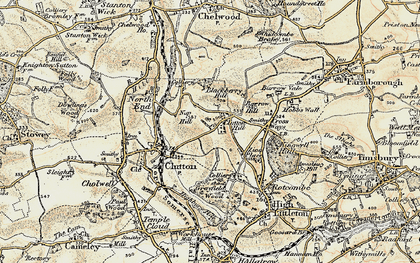 Old map of Zion Place in 1899