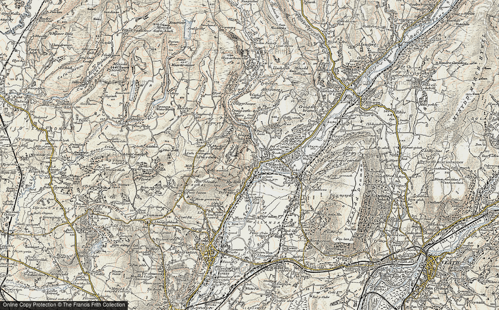 Old Map of Clydach, 1900-1901 in 1900-1901