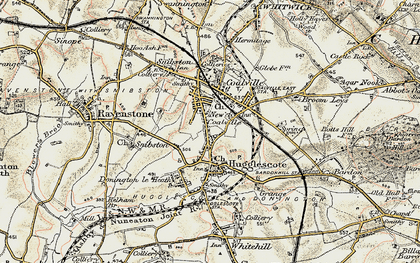 Old map of Coalville in 1902-1903