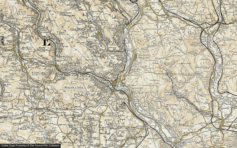 Coedpenmaen, 1899-1900