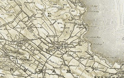Old map of Whitecross in 1901-1903