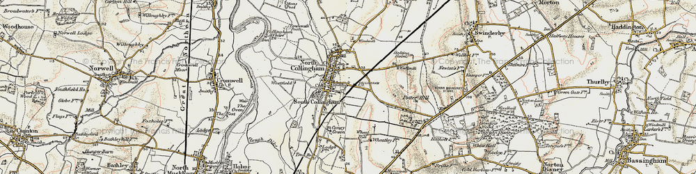 Old map of Wheatley Hill in 1902-1903
