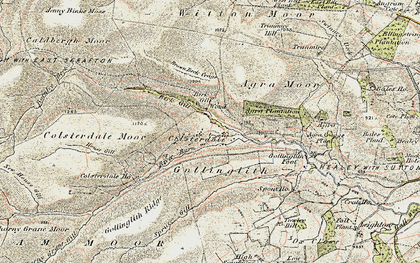 Old map of Baldcar Head in 1903-1904