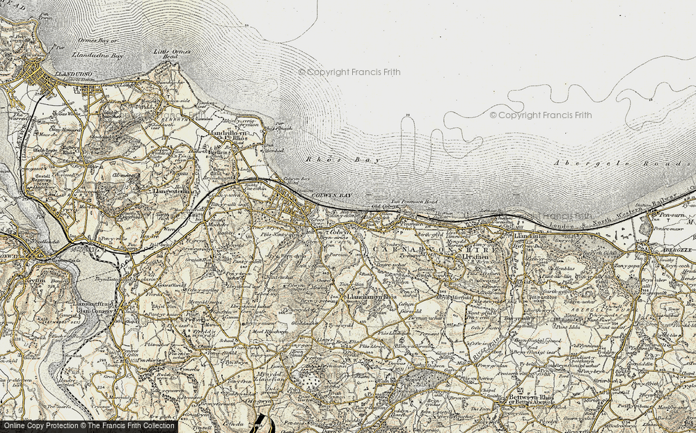 Old Map of Colwyn Bay, 1902-1903 in 1902-1903