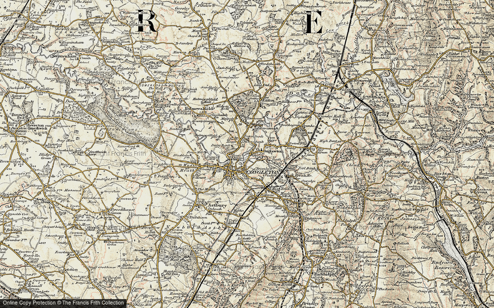 Old Map of Congleton, 1902-1903 in 1902-1903