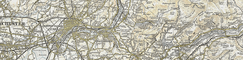 Old map of Wild Bank in 1903