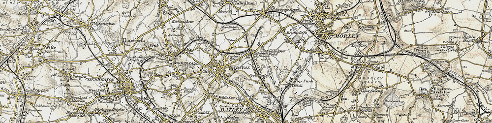 Old map of Wilton Park in 1903