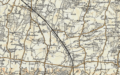 Old map of Alicelands in 1898