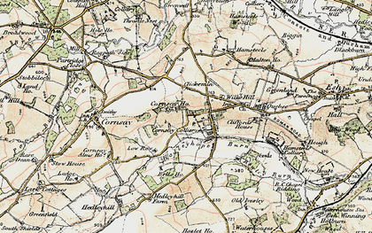 Old map of Wilk's Hill in 1901-1904
