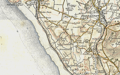 Old map of Ashley Grove in 1903-1904