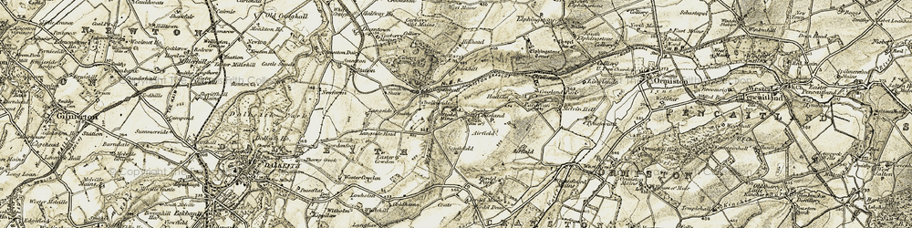 Old map of Airfield in 1903-1904