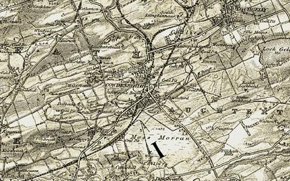 Old map of Leuchatsbeath in 1903-1906