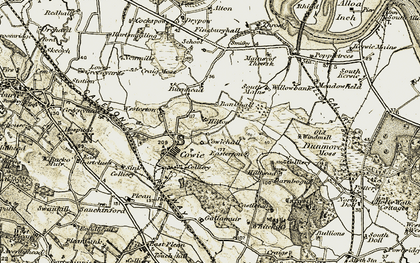 Old map of Westerton in 1904-1907