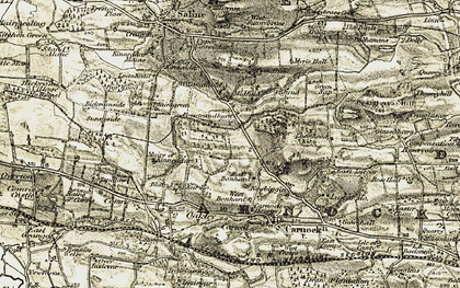 Old map of Bandrum in 1904-1906