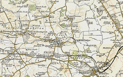 Old map of West Pasture in 1904