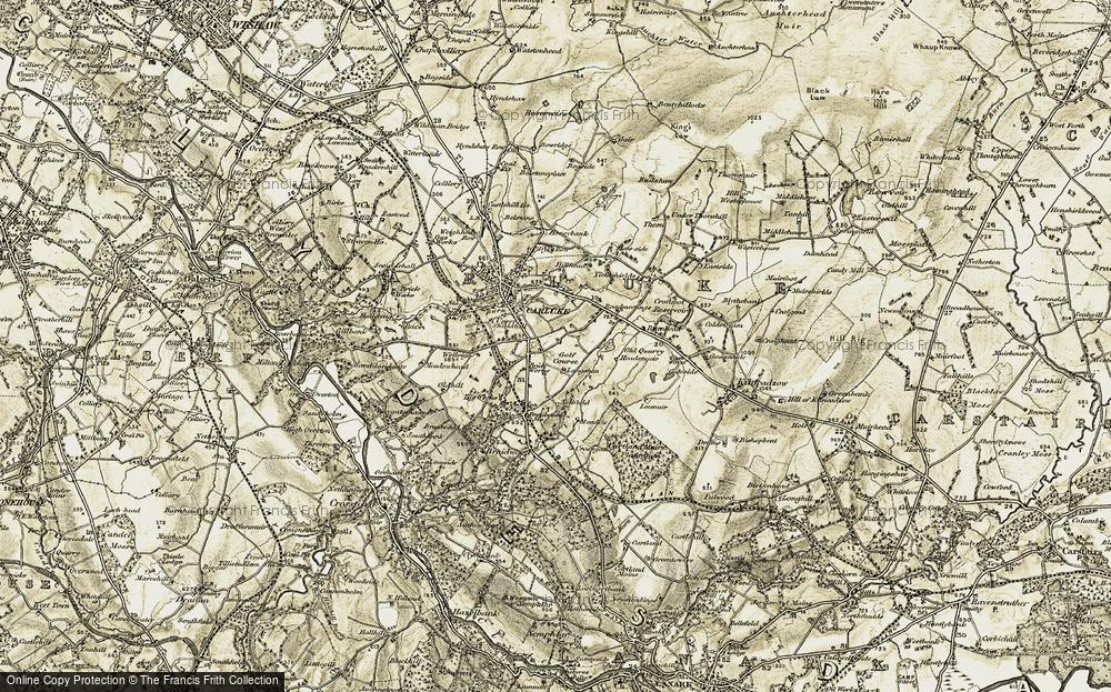Crawforddyke, 1904-1905