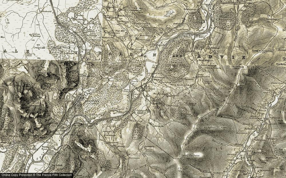 Cromdale, 1908-1911