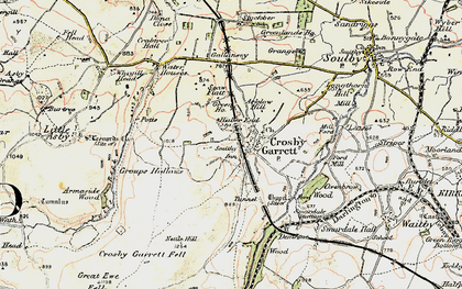 Old map of Arklow Hill in 1903-1904