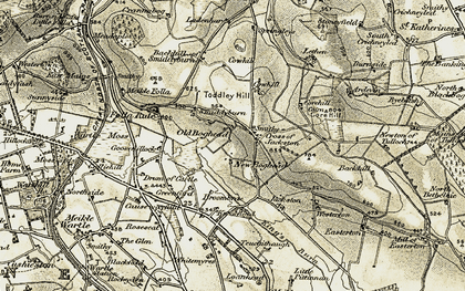 Old map of Baikiehowe in 1909-1910