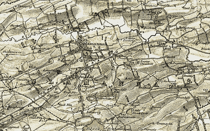 Old map of Balmitchell in 1904-1905