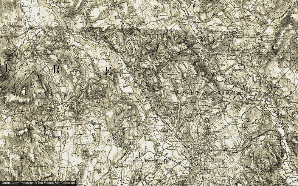 Old Map of Historic Map covering Airds in 1904-1905