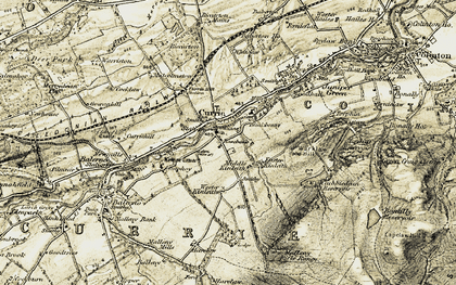 Old map of Lennox Tower in 1903-1904