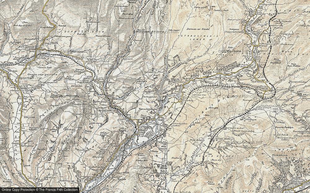 Cwmgiedd, 1900-1901