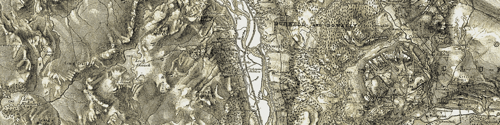 Old map of Woodinch in 1907-1908