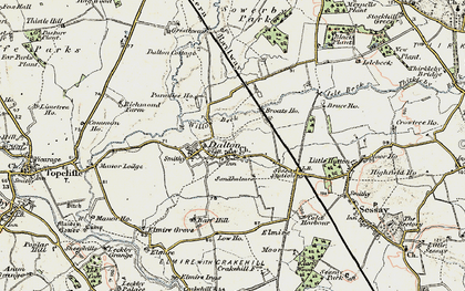 Old map of Westholme in 1903-1904