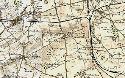 Old map of Skibbereen in 1903-1904
