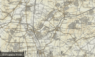 Map of Deepdale, 1898-1901
