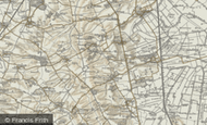 Map of Denton, 1901
