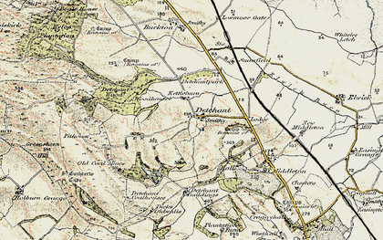Old map of Tilesheds Wood in 1901-1903