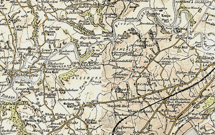 Old map of Bailey Hall in 1903-1904