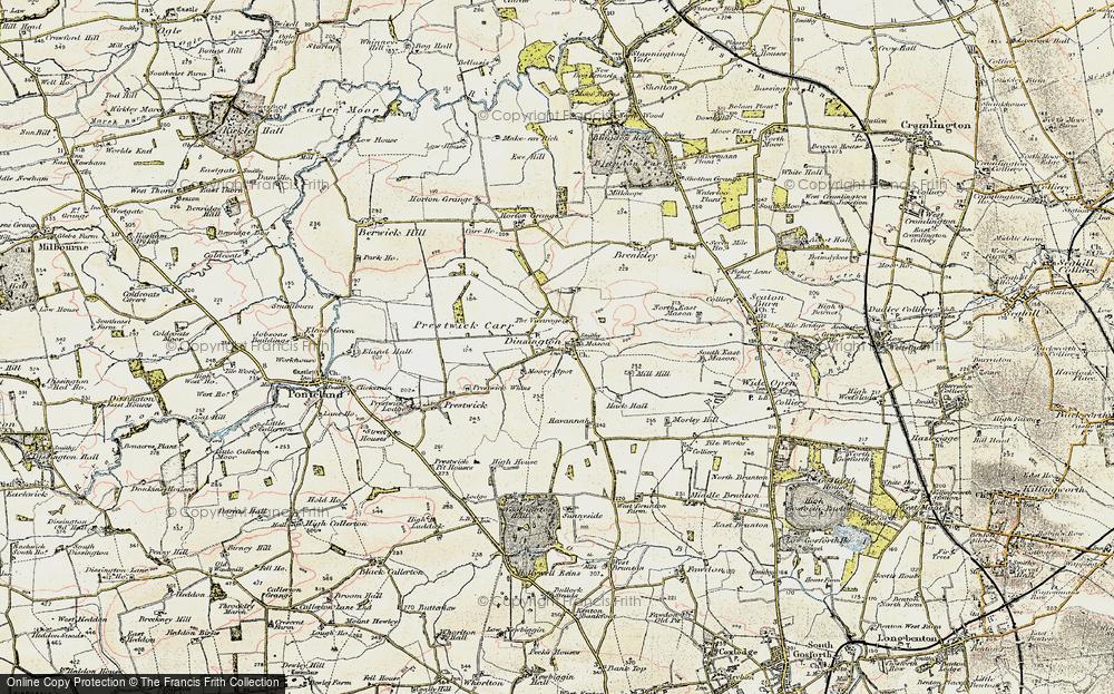 Dinnington, 1901-1903