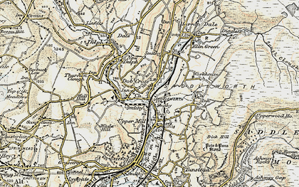 Old map of Lark Hill in 1903