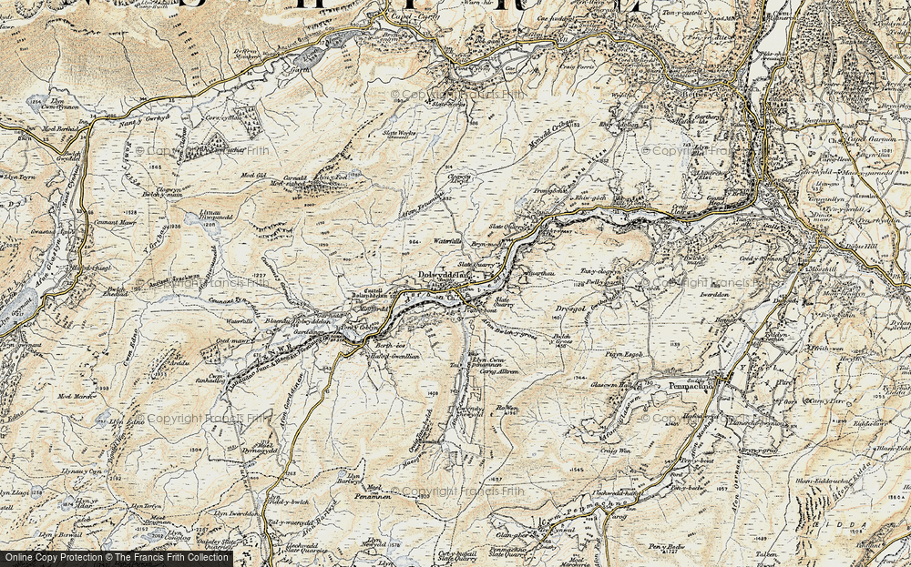 Dolwyddelan, 1902-1903