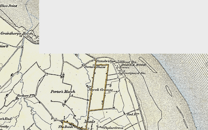 Old map of Laramie in 1903-1908