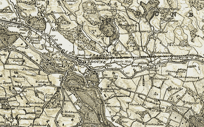 Old map of Westerton Wood in 1904-1907