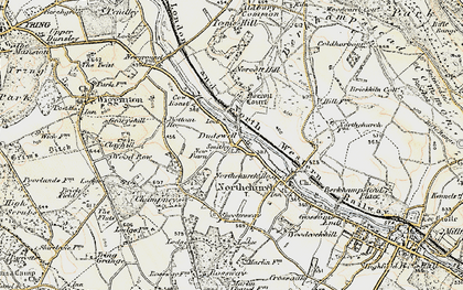 Old map of Dudswell in 1898