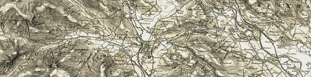 Old map of Whitedike in 1904-1905