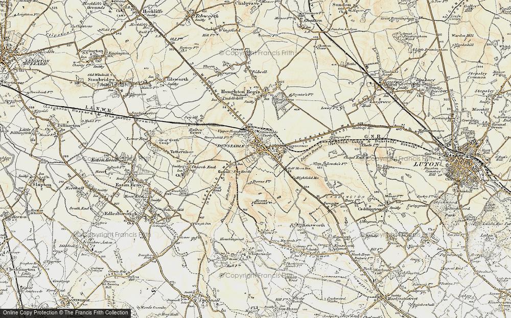 Dunstable, 1898-1899