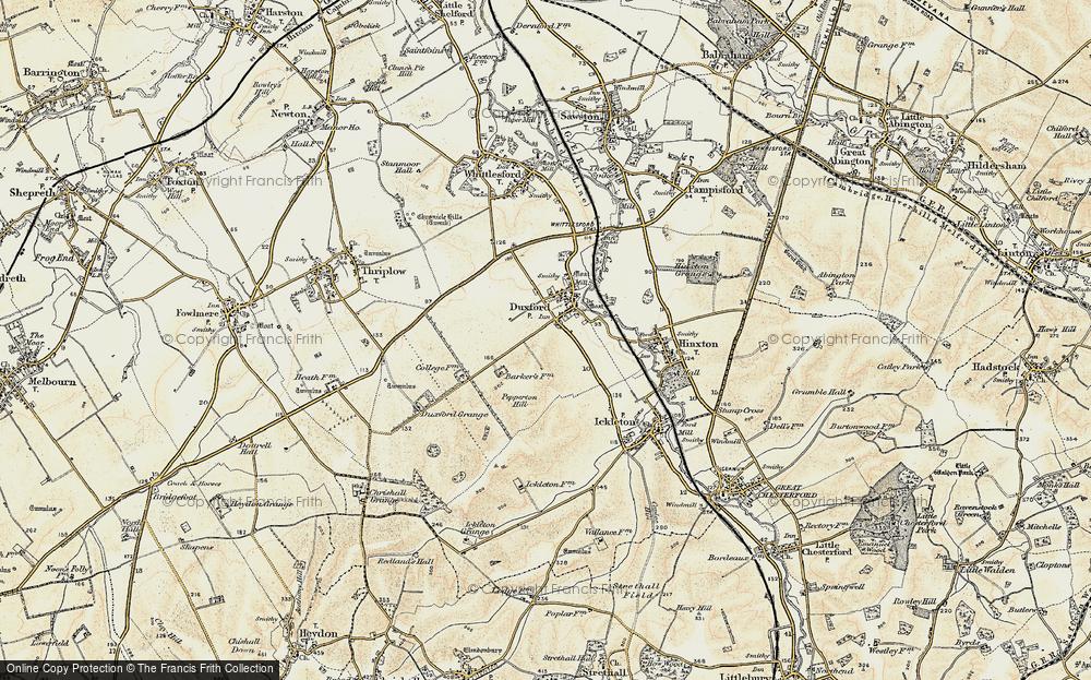 Duxford, 1898-1901