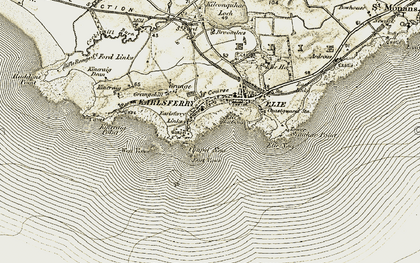 Old map of Wood Haven in 1903-1908