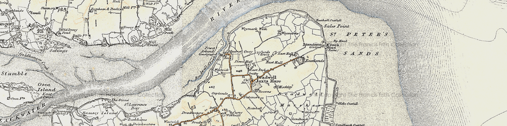 Old map of Tip Head in 1898