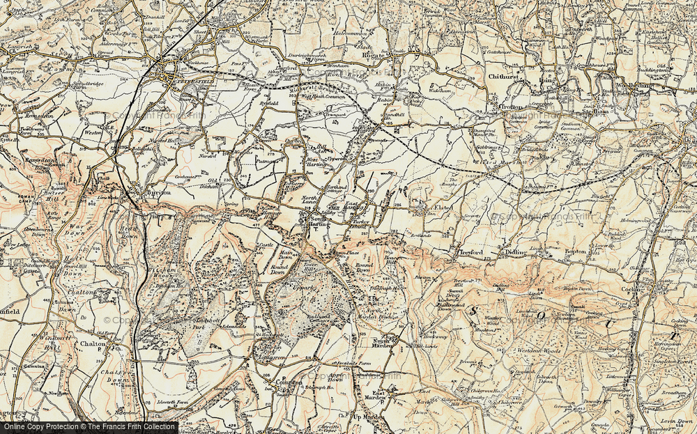 Old Map of East Harting, 1897-1900 in 1897-1900