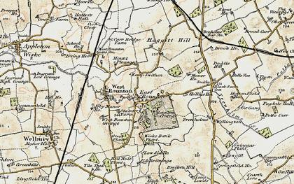 Old map of Wiske Bank Plantn in 1903-1904