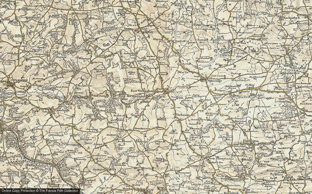 East Worlington, 1899-1900