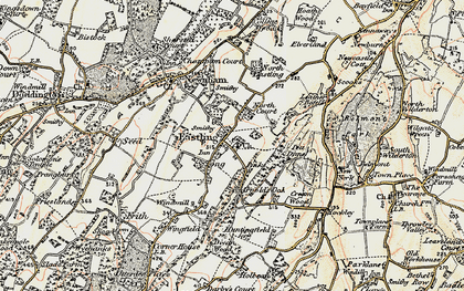 Old map of Tong Ho in 1897-1898
