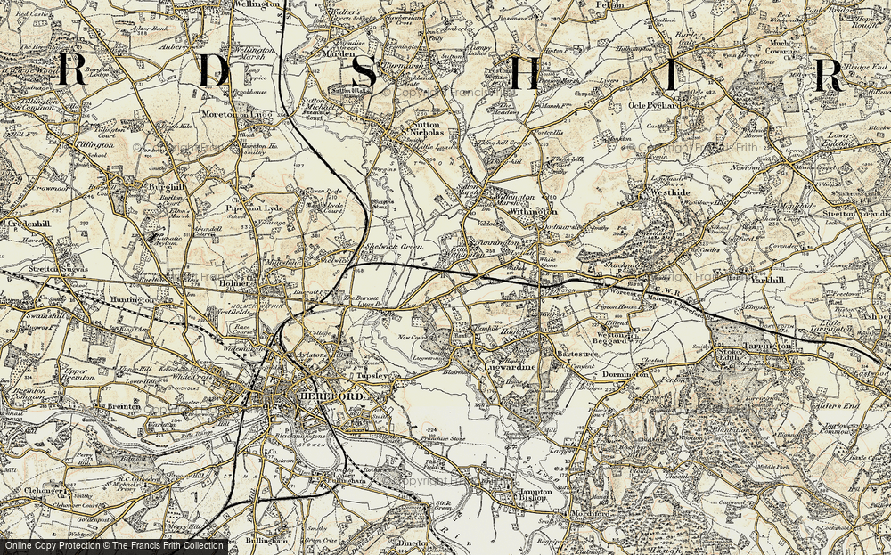 Old Map of Eau Withington, 1899-1901 in 1899-1901